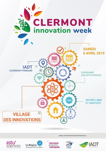 Xl affiche clermont innovation week 2019 v2
