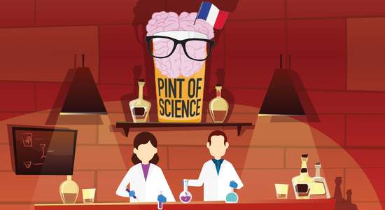 Lg affiche pint of science