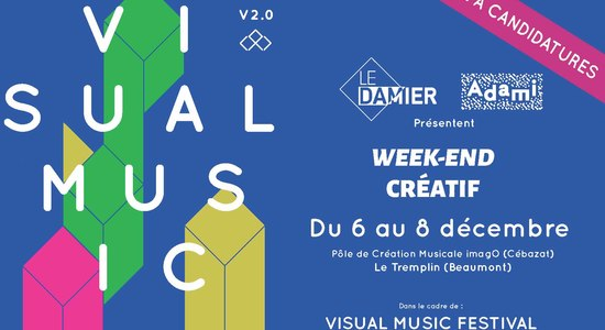 Lg visual music week end creatif